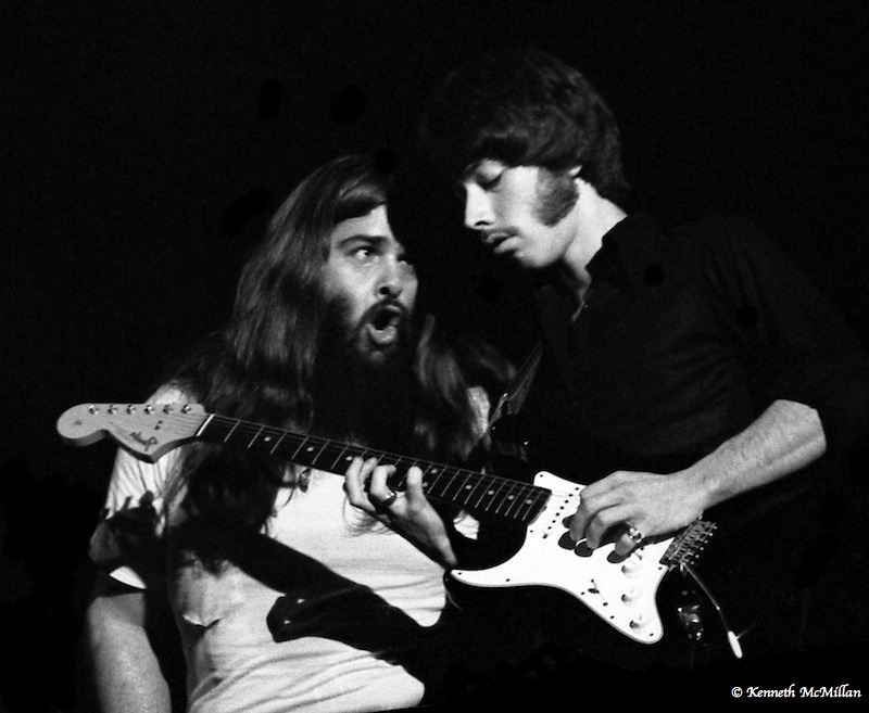 Canned Heat Bob Hite and Harvey Mandel, 1970