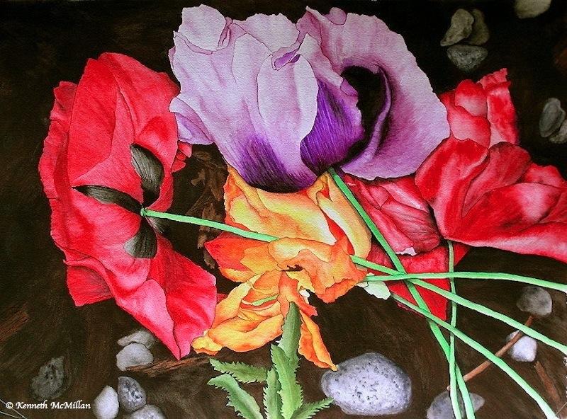 Fallen Bouquet