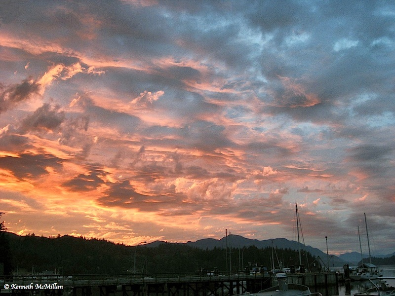 Inlet Sunset - 2007