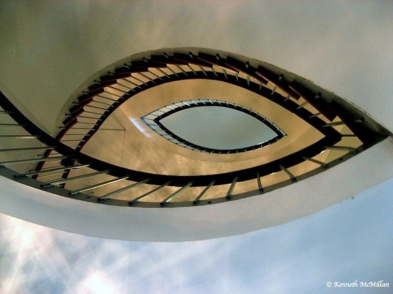 Stairway Cambridge City Hall Cambridge, Ontario