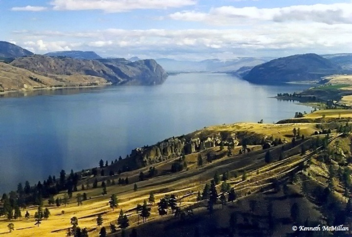 Kamloops Lake, British Columbia, Canada