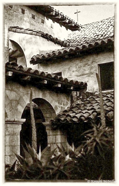 Santa Barbara Mission, California -1987