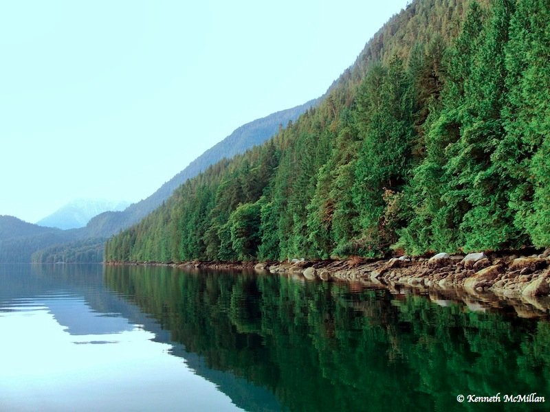 Prince of Wales Reach, Jervis Inlet, British Columbia