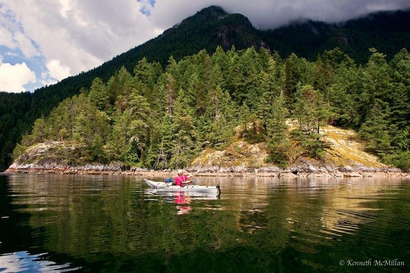 Near Tuwanek Point, Sechelt Inlet, British Columbia, Canada