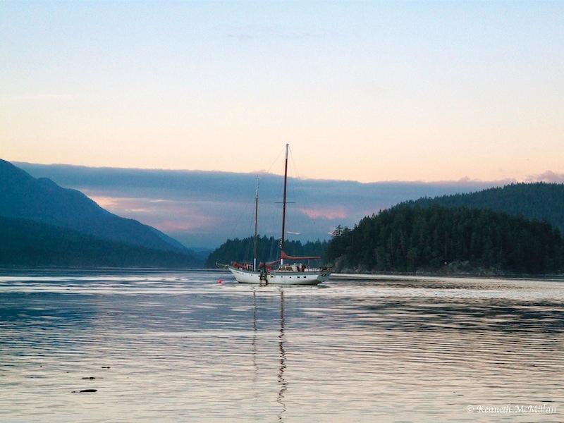 Sechelt Inlet, British Columbia, Canada
