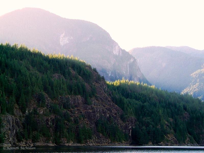 Baker Bay, Hotham Sound, British Columbia, Canada