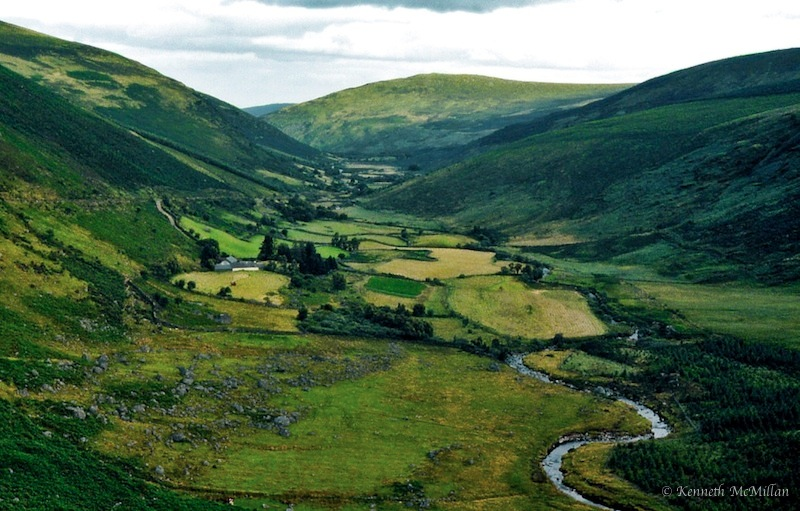In Green Valley Of Wicklow Hills. Ireland Photograph by ... |Wicklow Hills Ireland