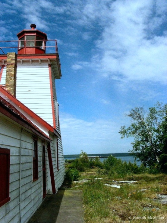 Mississagi Lighthouse, Manitoulin Island, Ontario, Canada