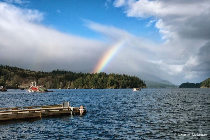 Photographed: Porpoise Bay, Sechelt, British Columbia, Canada