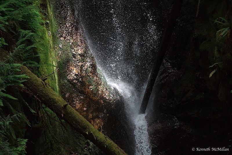 Burnett Falls, Sechelt, British Columbia, Canada