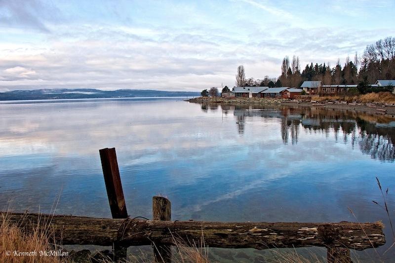 Malaspina Strait, British Columbia, Canada