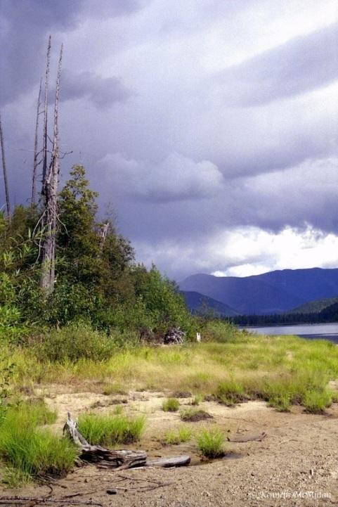North Barriere Lake, British columbia, Canada