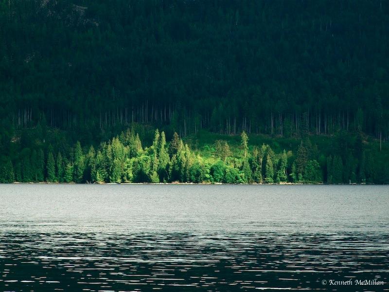Salmon Inlet, British Columbia, Canada