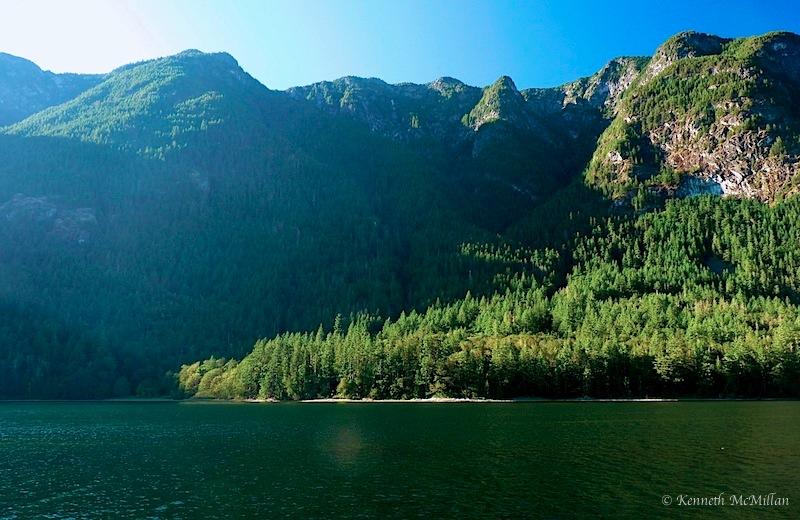 Tzoonie Narrows, Narrows Inlet, British Columbia, Canada