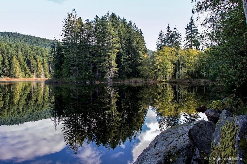 Location: Trout Lake, Sechelt Peninsula, British Columbia, Canada