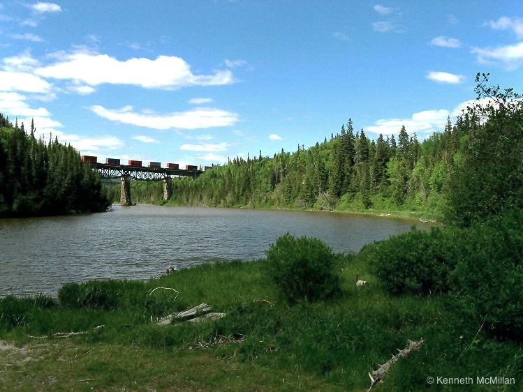 Location: Little Pic River, Ontario, Canada