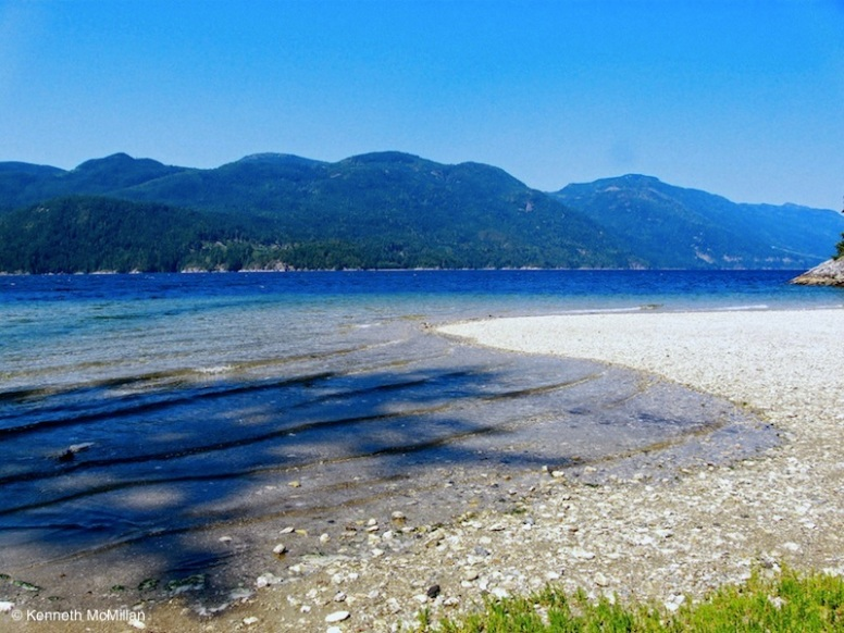 Location: Nine Mile Point, Sechelt Inlet, BC, Canada