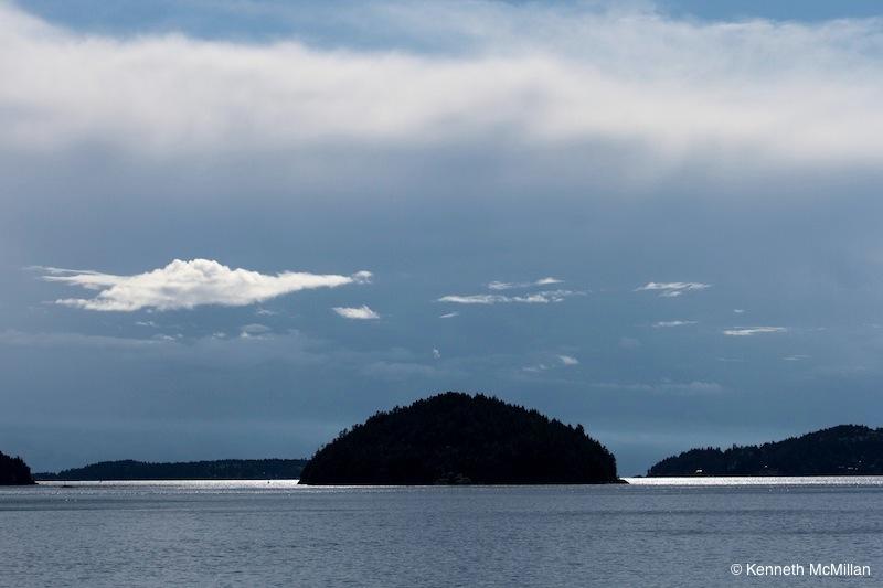 Location: Hutt Island, Howe Sound, British Columbia, Canada