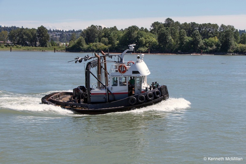 Another working tugboat.