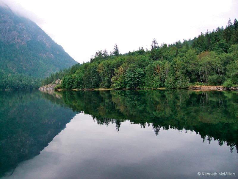 Location: Tzoonie Narrows, Narrows Inlet, British Columbia, Canada