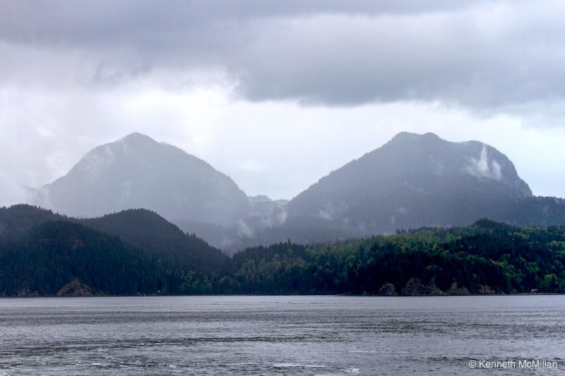 Location, Gambier Island, British Columbia, Canada