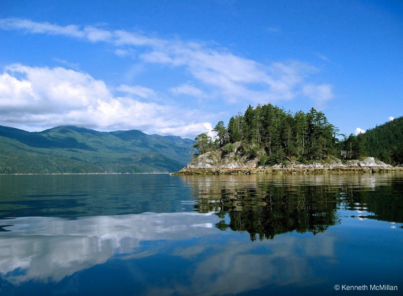 Location, Sechelt Inlet, British Columbia, Canada
