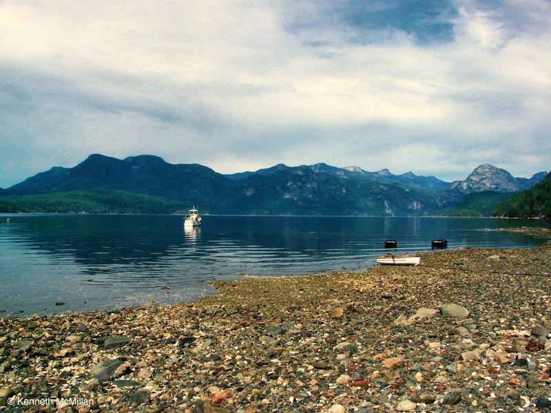 Location: Granville Bay, British Columbia, Canada