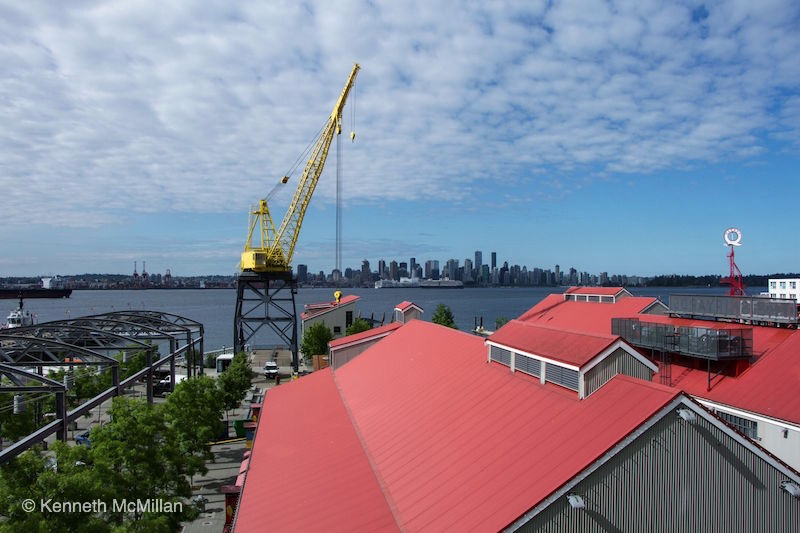Location: The old shipyards, foot of Lonsdale Avenue, North Vancouver, British Columbia, Canada